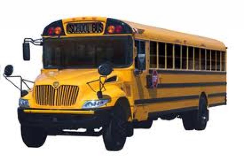 Charter school bus.